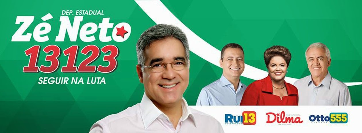 #ZéNeto13123 Deputado Estadual