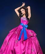 Ahora les voy a enseñar algo hermoso!!! Vestido Tejido XV Años vestido tejido xv aã'os