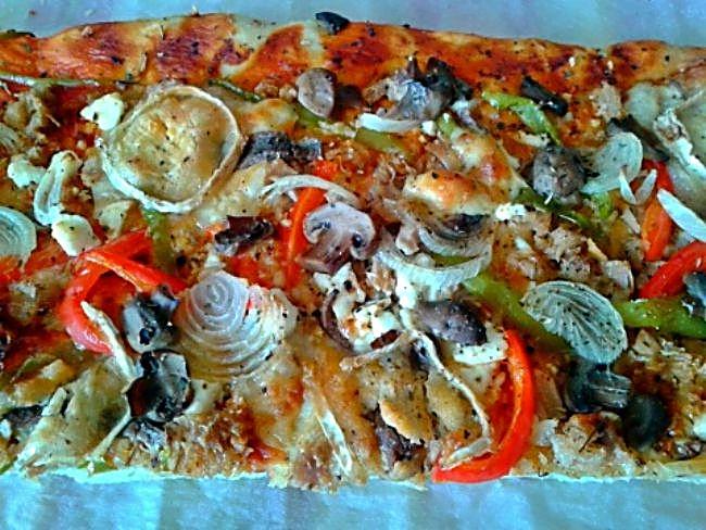 Pizza mar y queso