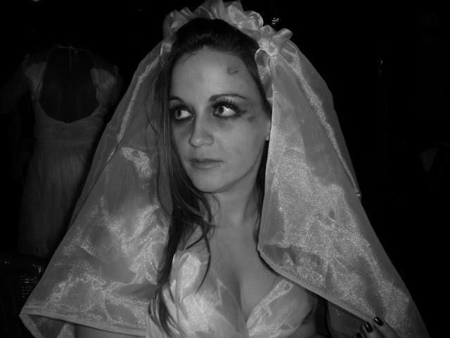Disfraz novia cadáver Halloween
