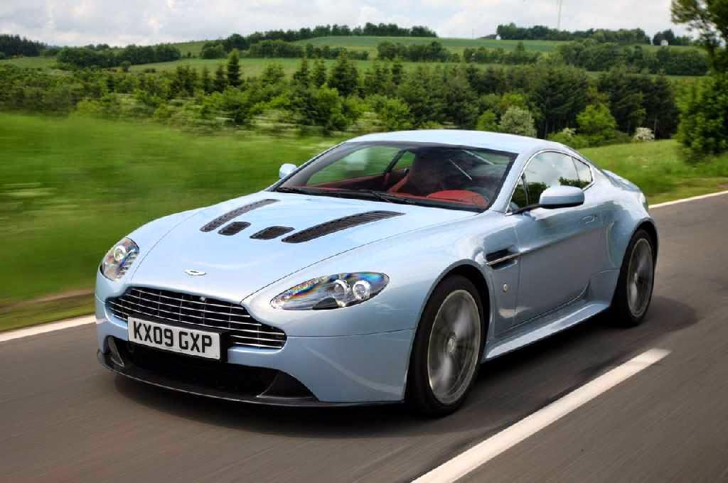 Aston Martin V12 Vantage Front View