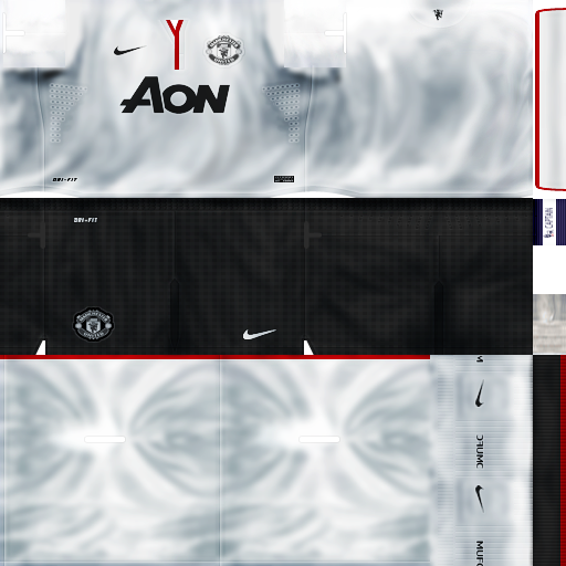 Uniforme Manchester United 2012 2013 By ManOpazo   PES 6