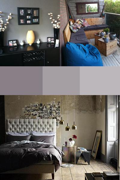 Slaapkamer Met Taupe: Paars. Images about slaapkamer bruin tinten on ...
