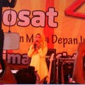 (23-Nov-2013) Fatin Perform AT Indosat 46 Night Market