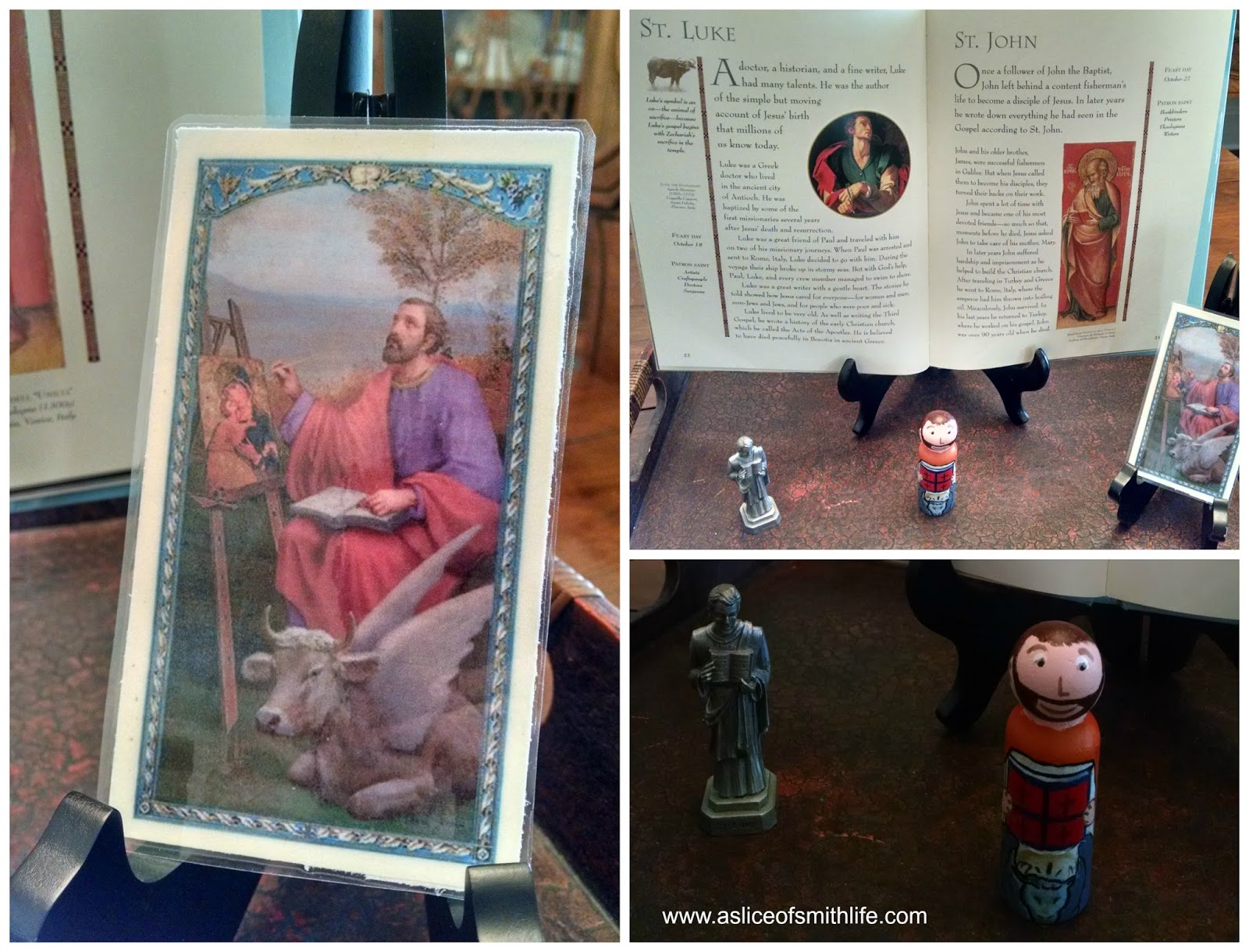 A Slice Of Smith Life St Lukes Feast Day And Saints Louis And