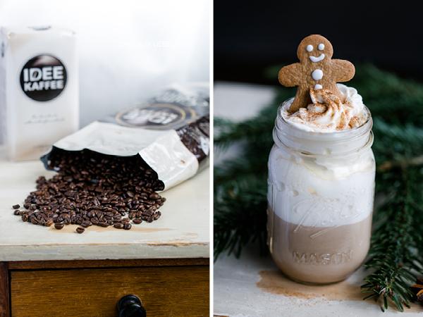 Kaffee mit weihnachtlichen Gewürzen