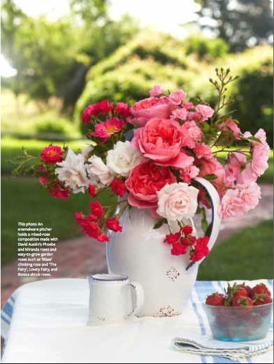 Karin Lidbeck English Rose Bouquets Country Gardens Magazine