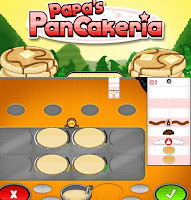 Papa's Pancakeria walkthrough.