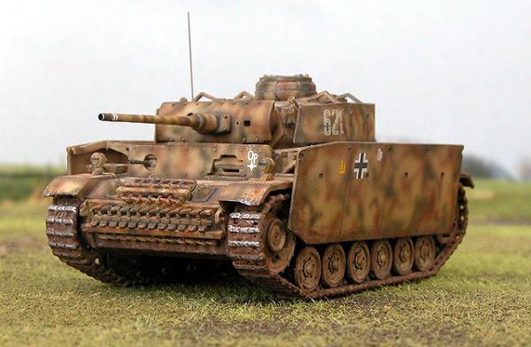 "Tancul german ""Panzer III"""