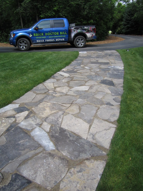 Flagstone Walks U0026 Patios Offer A Natural Looking Option To Your Hardscape