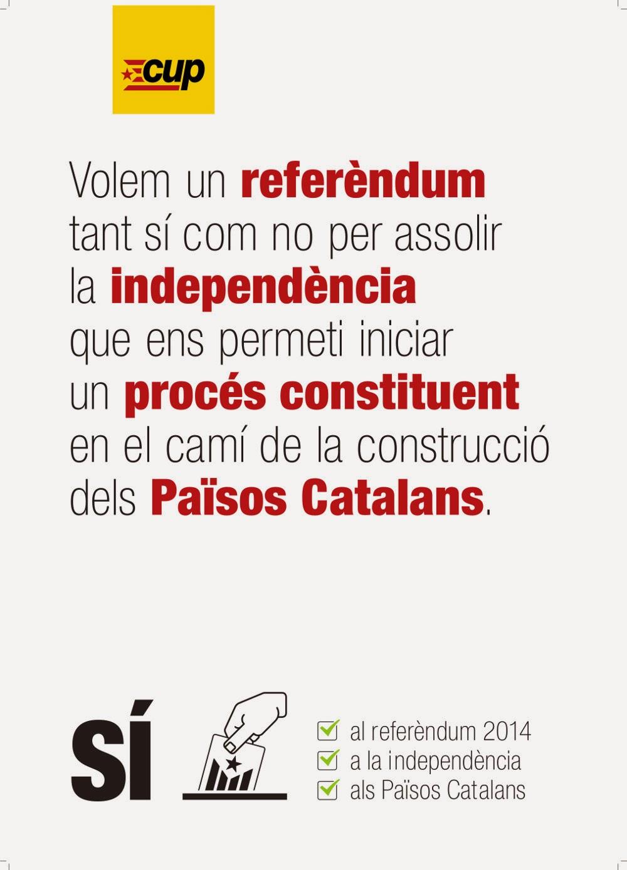Referèndum, independència, Procés Constituent, Països Catalans