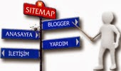 Sitemap sayfası oluşturma