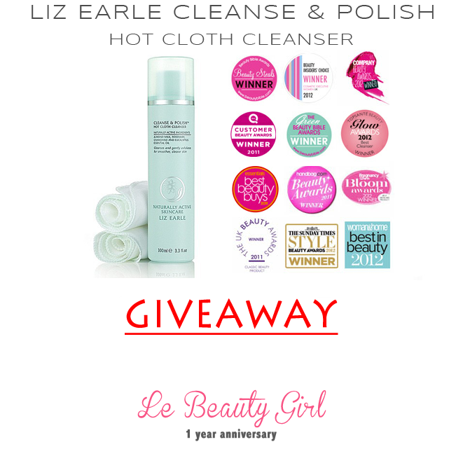 Le Beauty Girl's Anniversary GIVEAWAY!