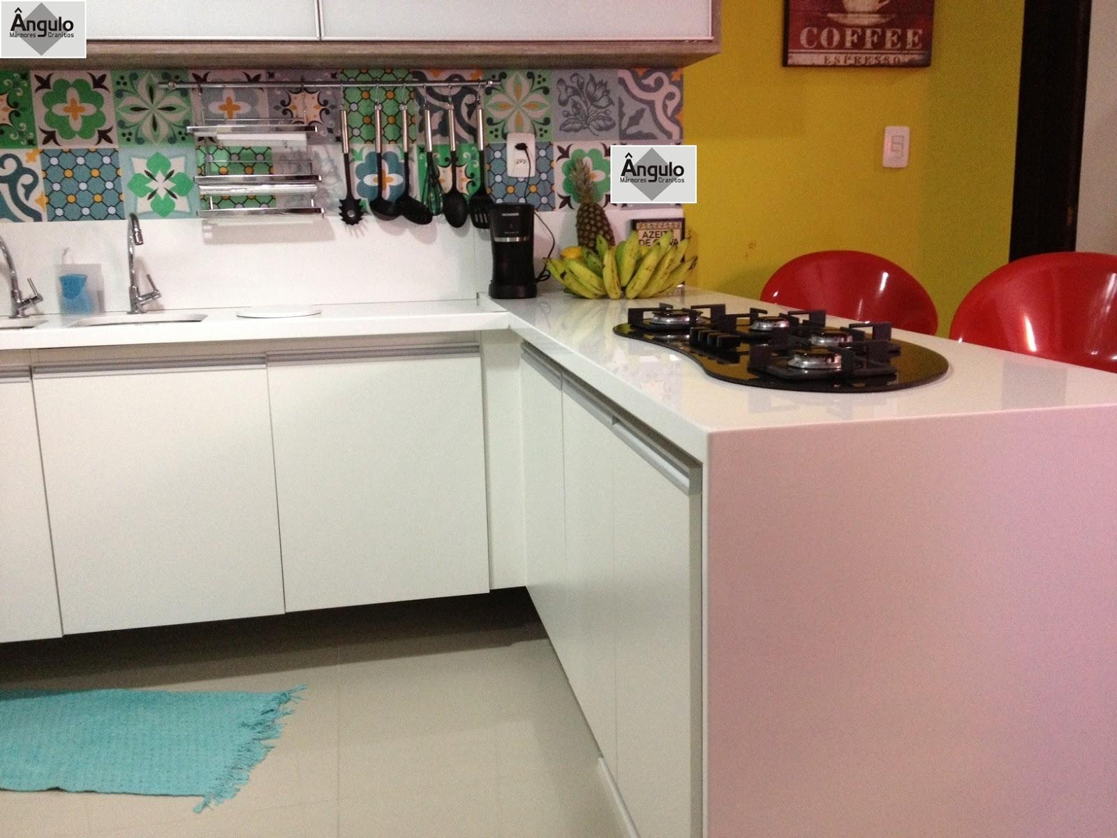 Ângulo Mármores e Granitos: Cozinha Balcão e Mesa em Nanoglass #AB8220 1600x1200 Balcao Banheiro Fabrica