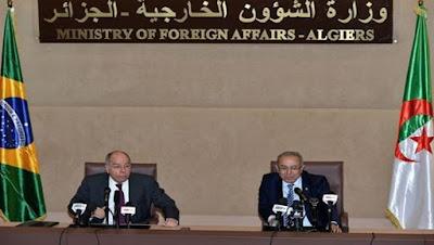 Soutien de l'Algérie et du Brésil au droit des peuples palestinien et sahraoui à l'autodétermination
