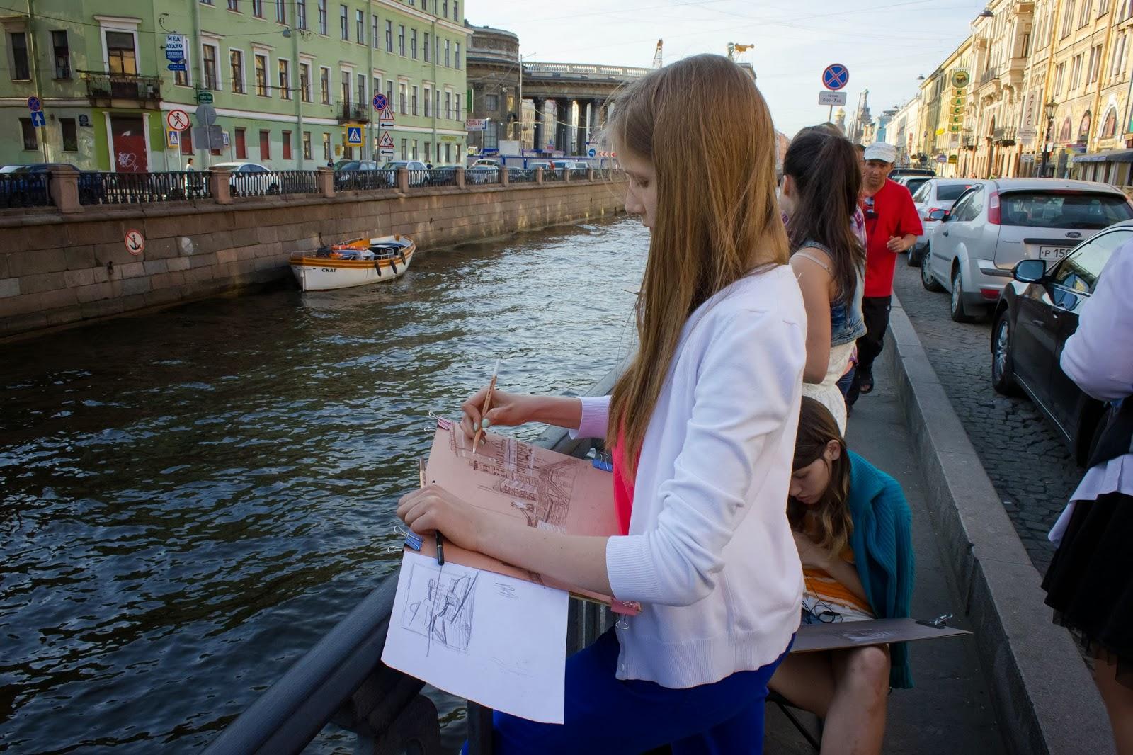 Санкт-Петербург, Россия, Каналы