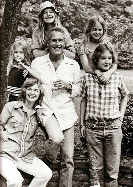 paul newman famiglia, Joanne Woodward