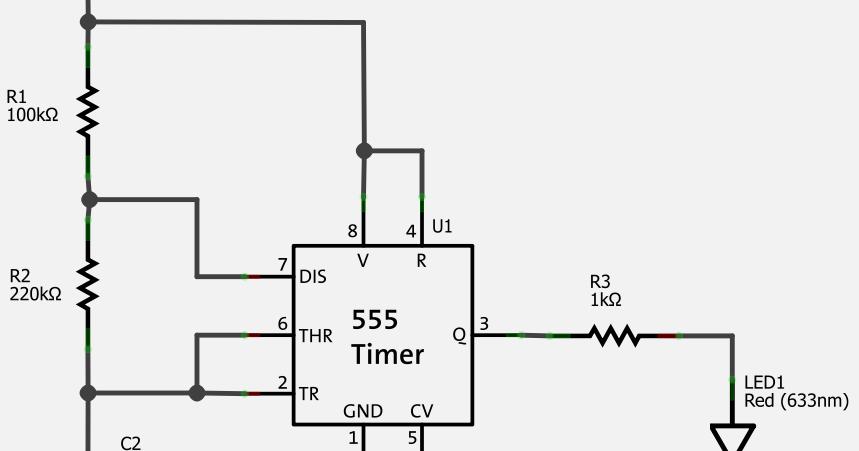 eletr u00f4nico  circuitos pisca de led