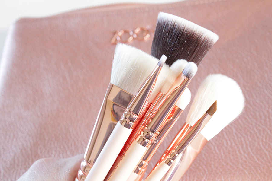 zoeva rose gold brushes