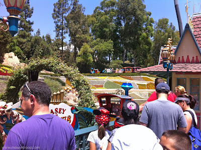 Casey Jr. Circus Train Disneyland station Story Book Land