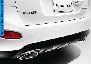 Hyundai santa fe car 2012 exhaust - صور شكمان سيارة هيونداى سنتافي 2012