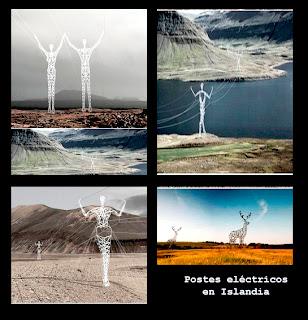 Curiosidades ~ Postes eléctricos ~Islandia