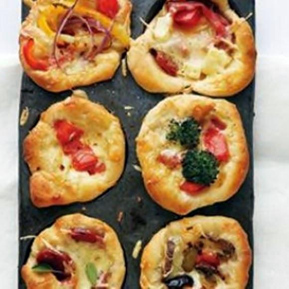 Minipizzas Livianas