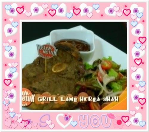 Ketuk Ketuk Ramadan bersama Shah Iskandar, - Grill Lamb Herba, Pais Udang