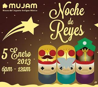 Noche de Reyes 2013 en el Museo del Juguete Antiguo