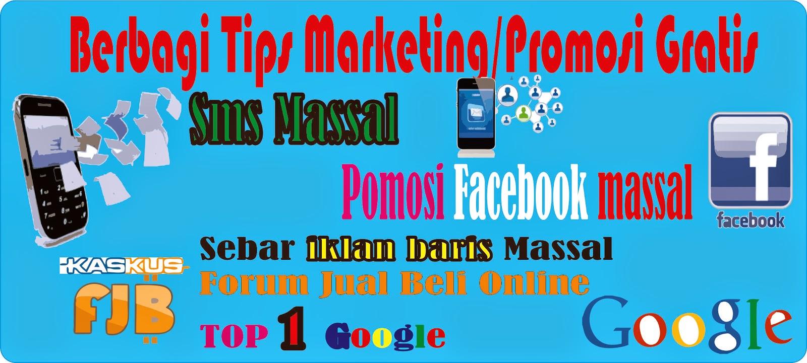 promosi sms marketing