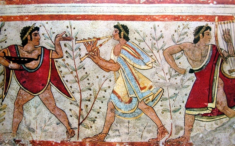 Historical fiction research in search of the etruscans for Ancient greek mural