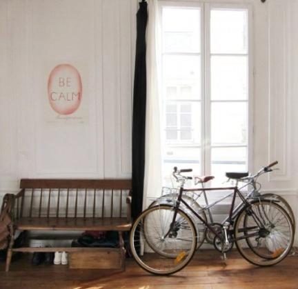 Mi rinc n de sue os ideas para guardar la bicicleta - Guardar bicicletas en poco espacio ...