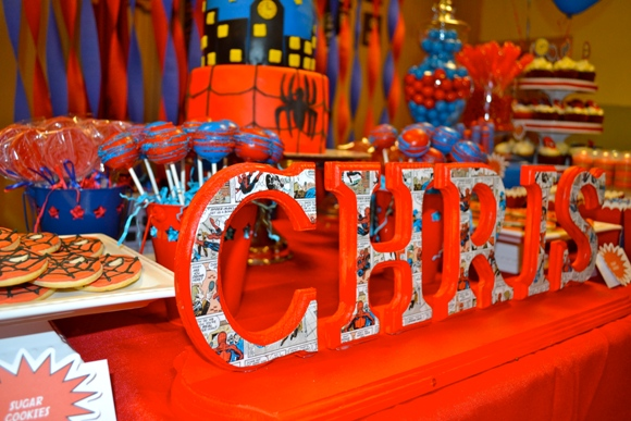 Amazing Spiderman Inspired Birthday Party Ideas