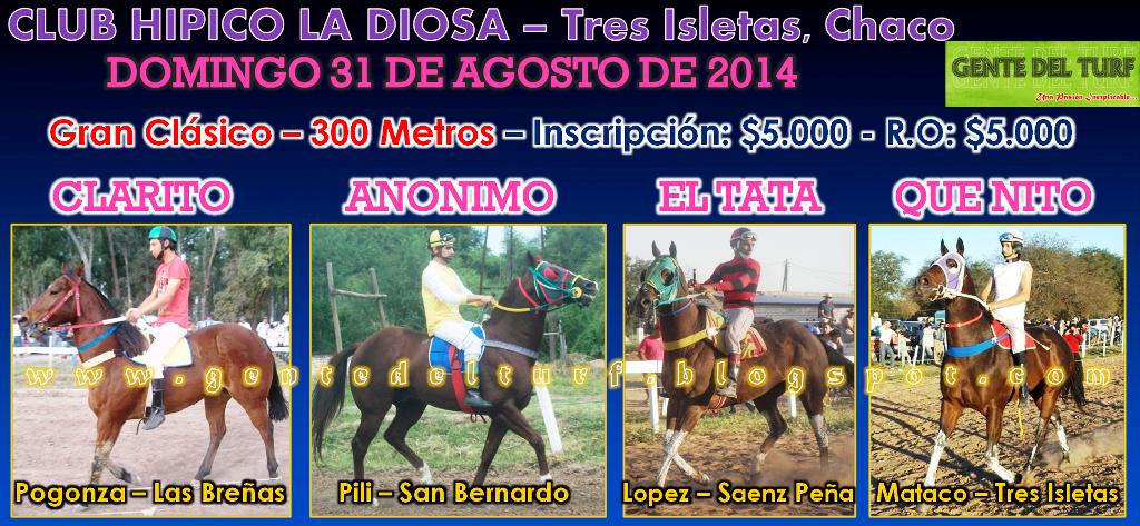 Tres Isletas Cambio 31-08 Clasico