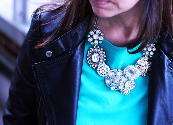Delicieux My DIY J. Crew Crystal Flower Lattice Necklace