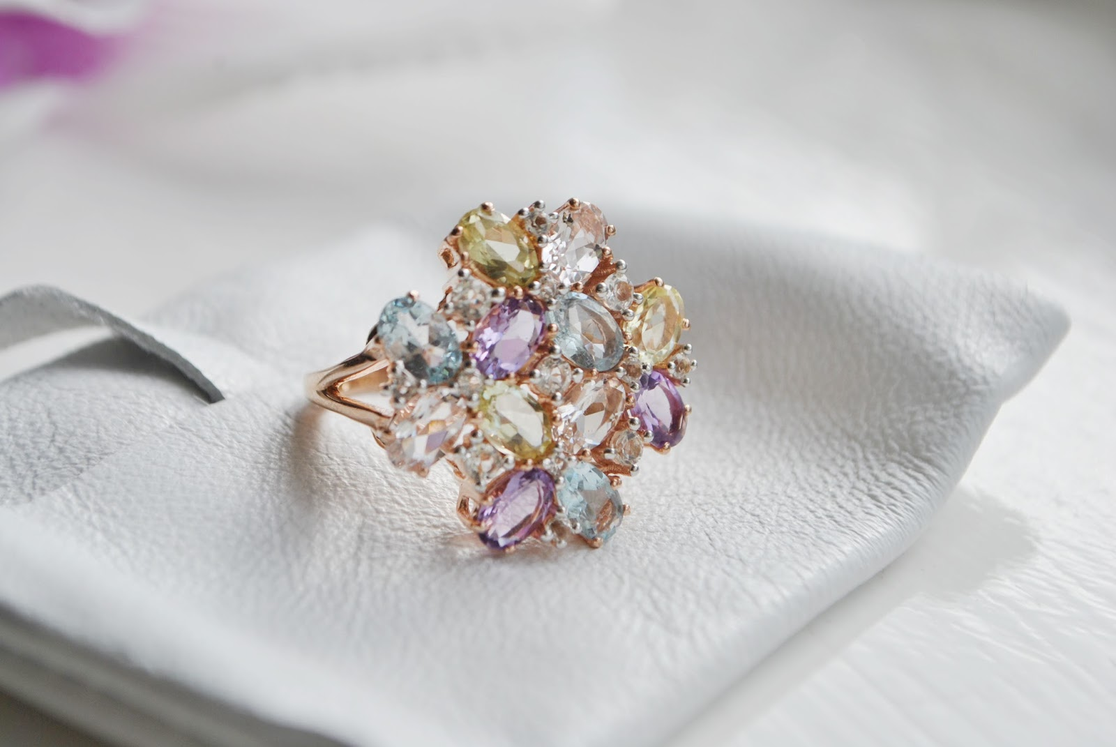 Gemporia   Flora Ring   Review & Images   G.T.W.L