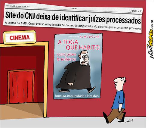O Globo: Site do CNJ deixa de identificar juízes processados