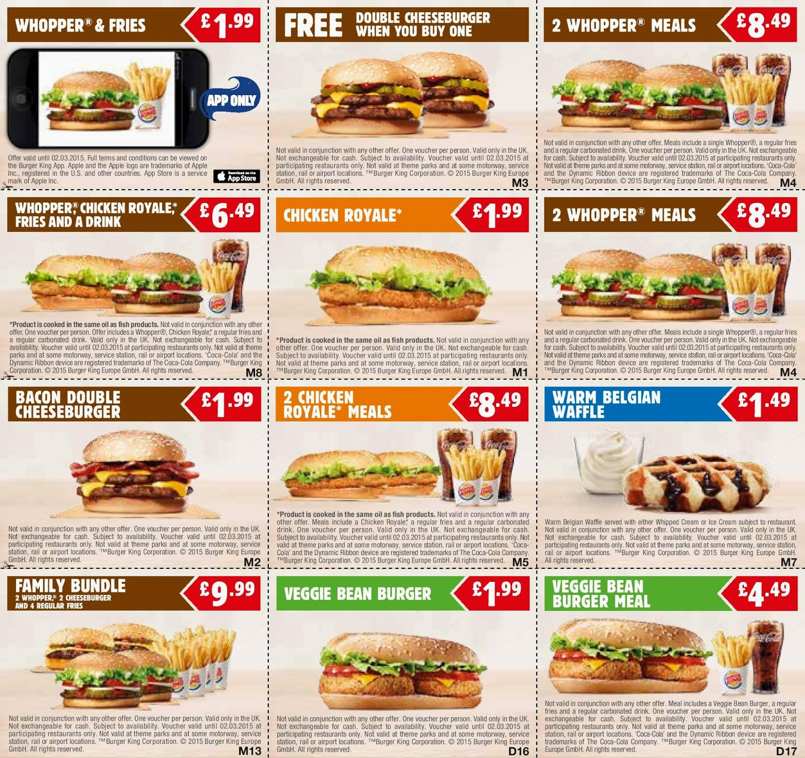 Burger king nz october coupons