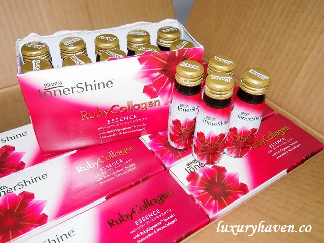 brands innershine ruby collagen review, beauty drink
