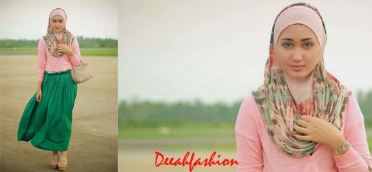 Trend Baju Muslim Remaja Pastel 2014