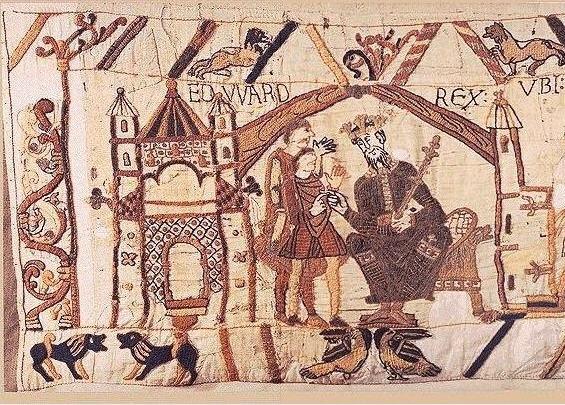 Pierres papiers ciseaux guillaume le conqu rant et la tapisserie de bayeux 1 - Qu est ce que la tapisserie de bayeux ...