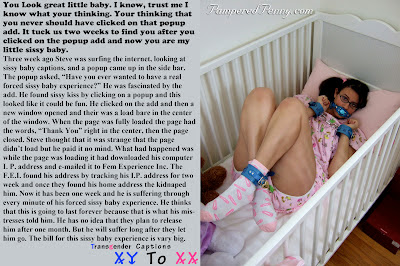 forced sissy baby experience