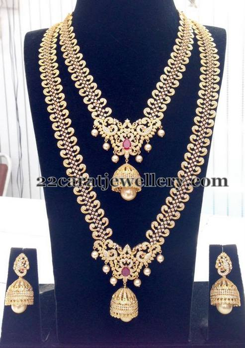 Gold Plated Grand Wedding Jewelry