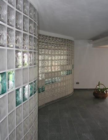 Contoh Pemasangan Glass Block
