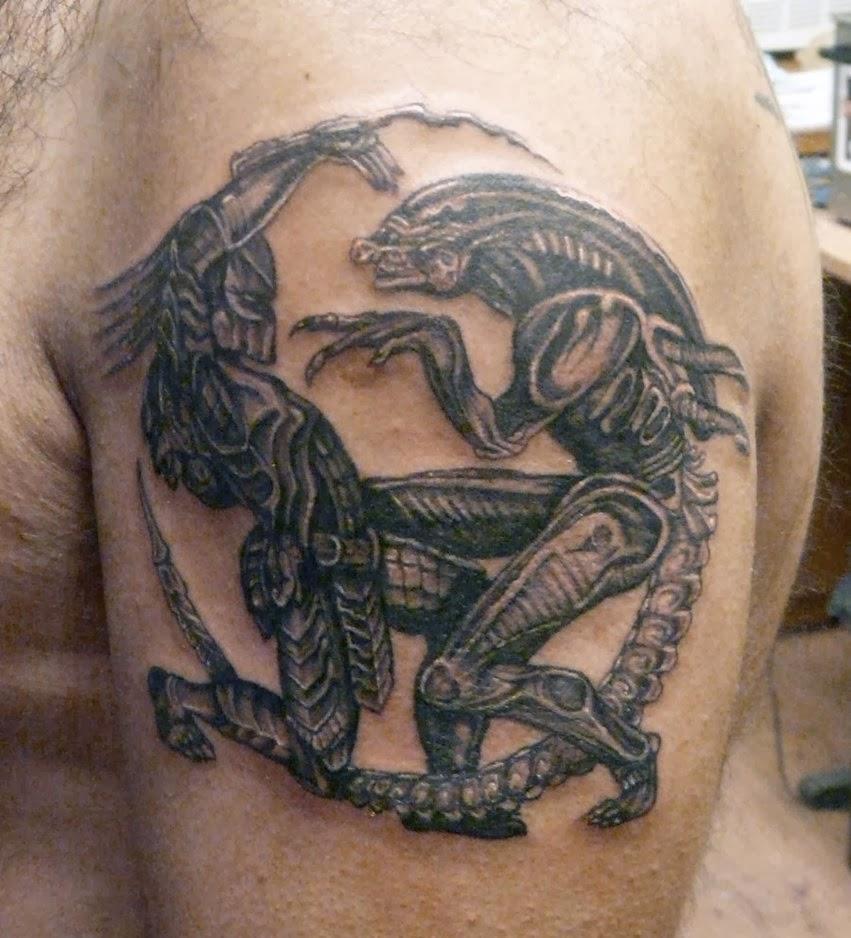 Tatuagem Alien Vs Predador