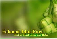 Ucapan IduL Fitri