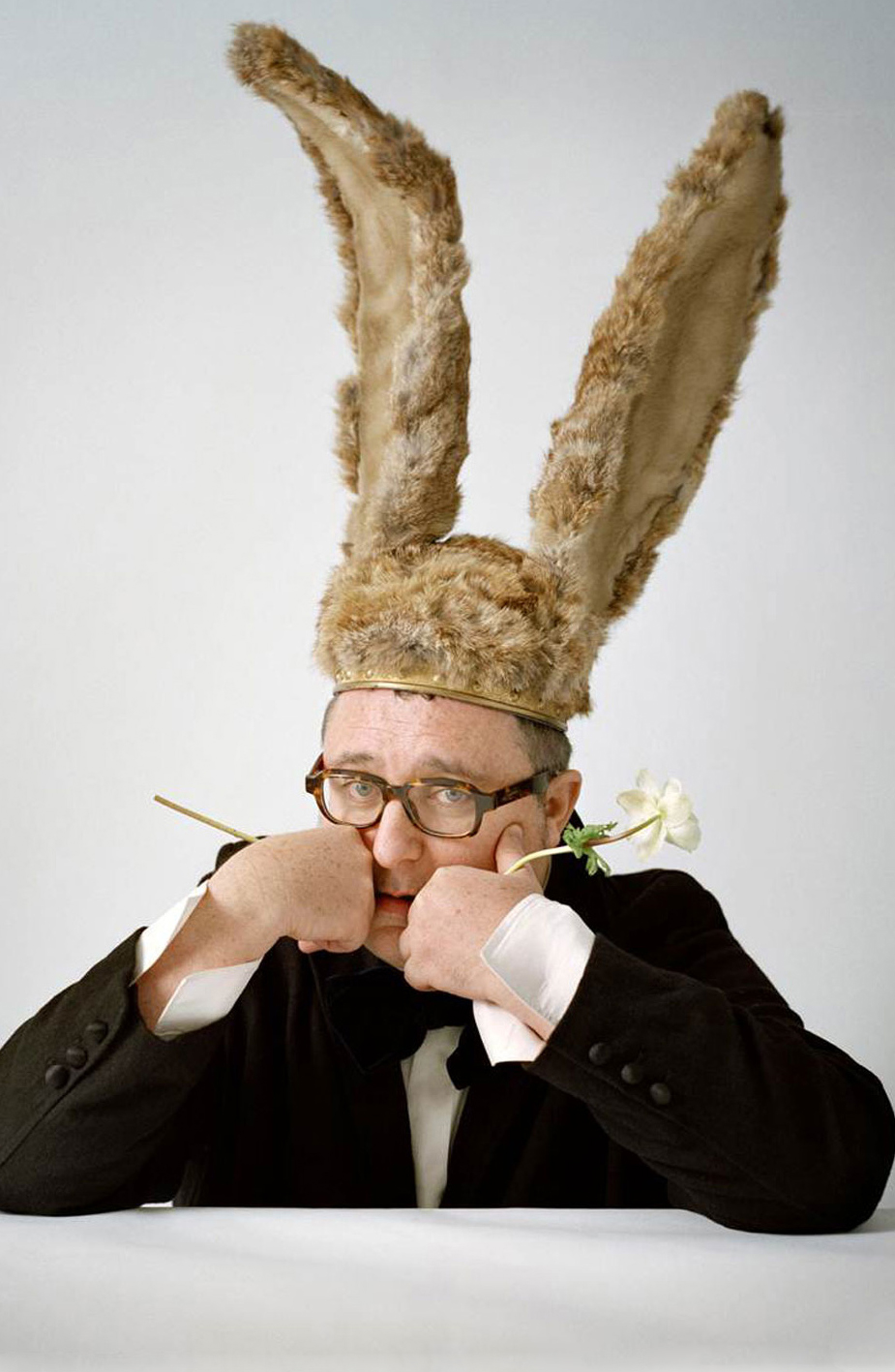 Alber Elbaz photographed by Tim Walker for Vogue / Alber Elbaz Interview for Observer via www.fashionedbylove.co.uk