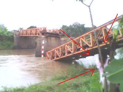 Penampakan Hantu Kuntilanak di Jembatan Roboh