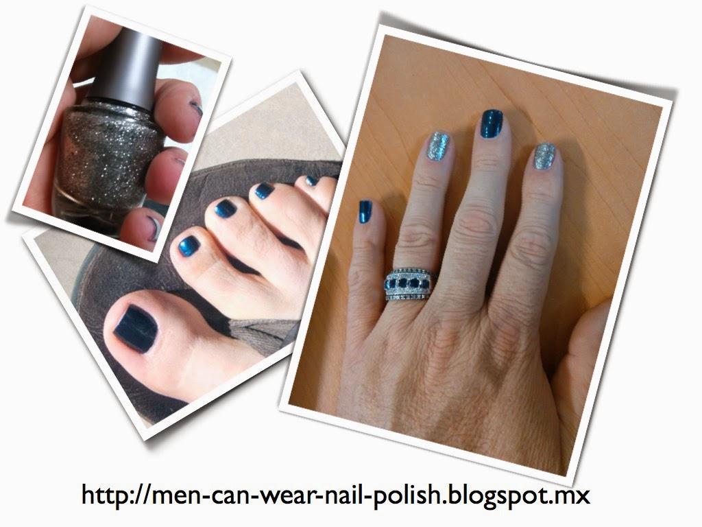 men theme nail polish frozen disney