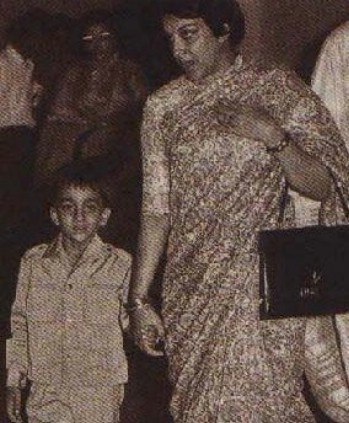 Sanjay Dutt In His Childhood